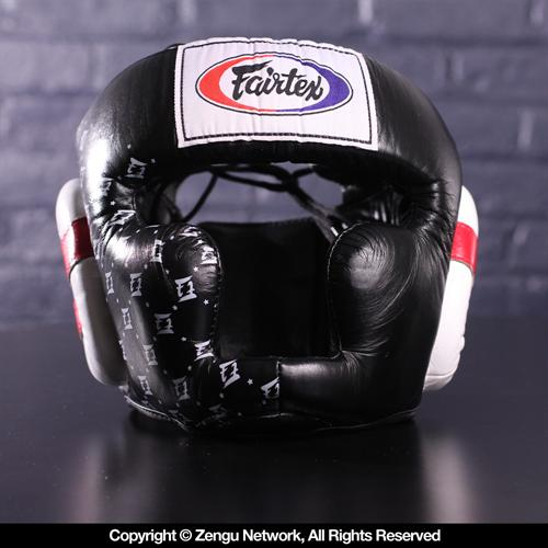 Fairtex Fairtex HG10 Super Sparring Head Guard - Black
